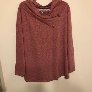 Sweaters - ⚡️ Long Sleeve Mauve Shirt ⚡️
